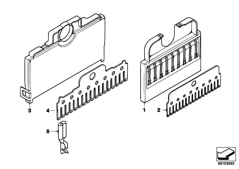 Original Parts for E90 323i N52 Sedan / Vehicle Electrical