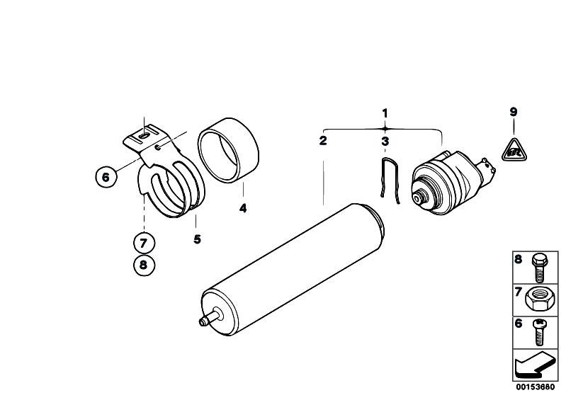 Original Parts for E83 X3 3.0d M57N SAV / Fuel Preparation