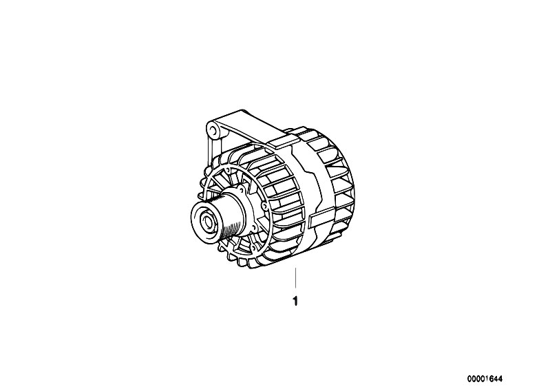 Original Parts for E39 540i M62 Touring / Engine