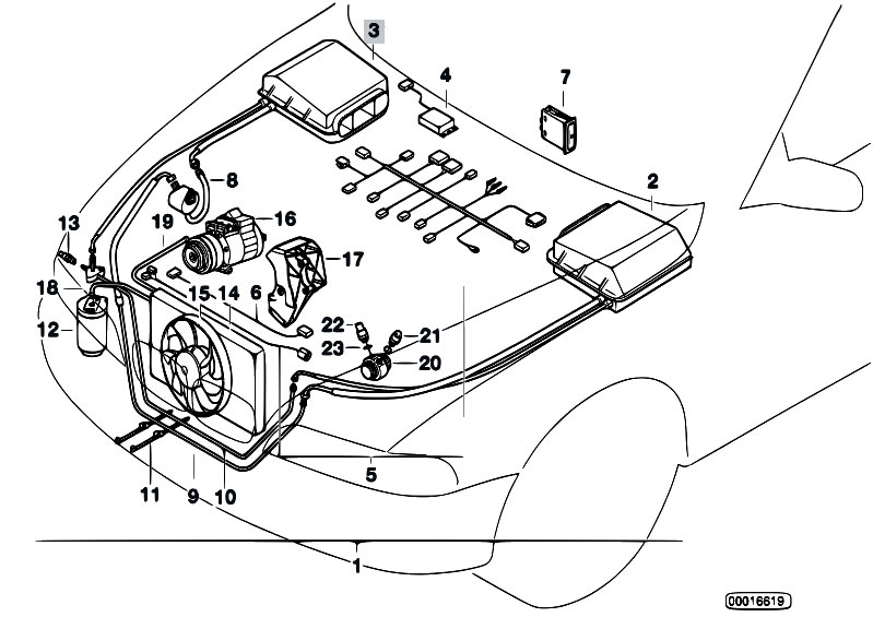 Original Parts for E39 525tds M51 Sedan / Heater And Air