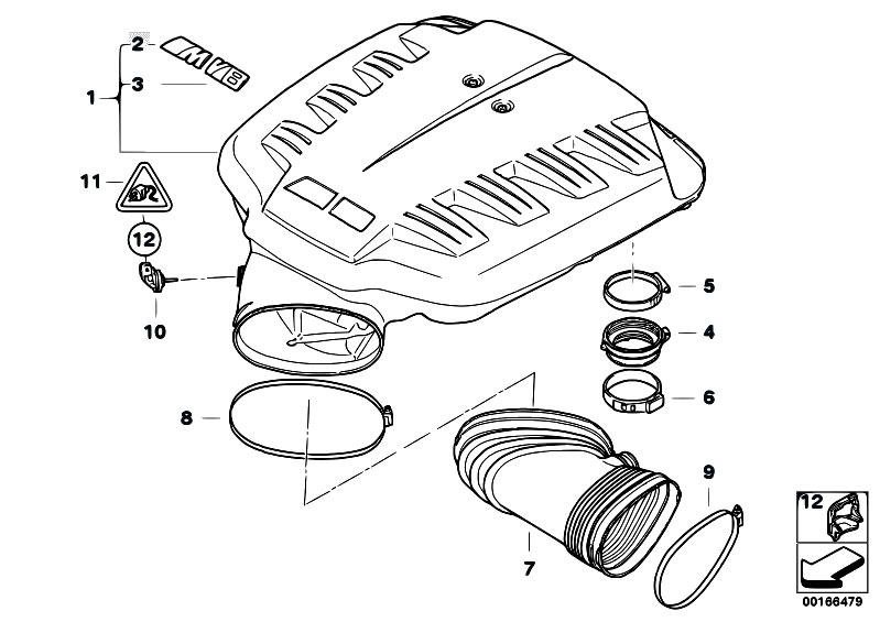 Original Parts for E90 M3 S65 Sedan / Engine/ Intake