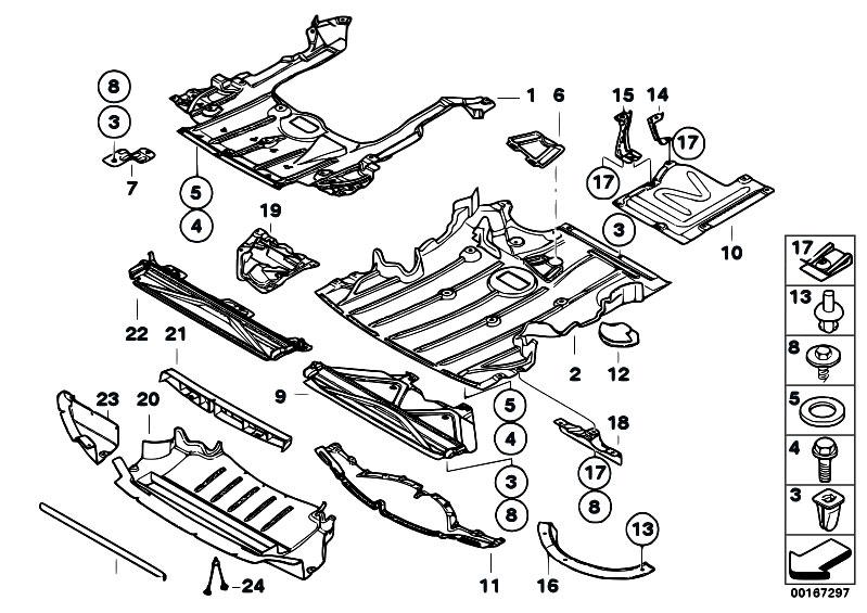 Original Parts for E93 330i N53 Cabrio / Vehicle Trim