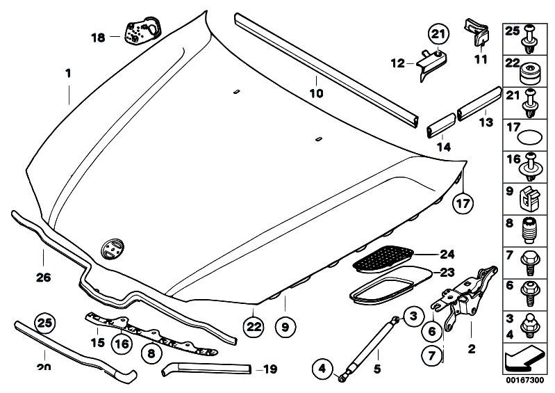 Original Parts for E87 118d M47N2 5 doors / Bodywork