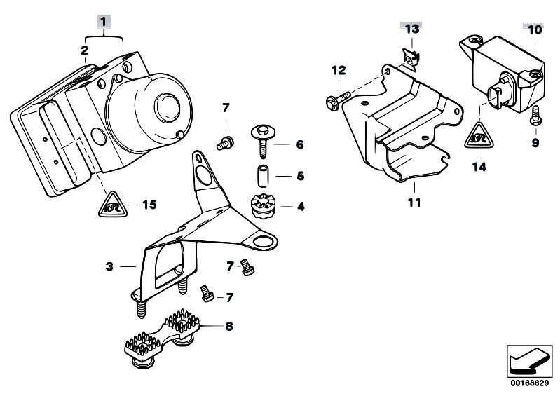 Original Parts for E46 316ti N42 Compact / Brakes/ Hydro