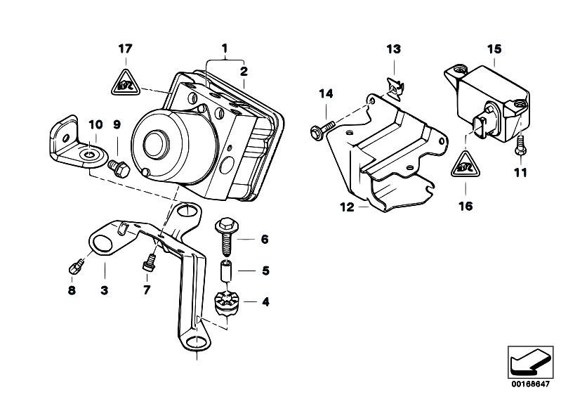 Original Parts for E46 318Ci N42 Coupe / Brakes/ Hydro
