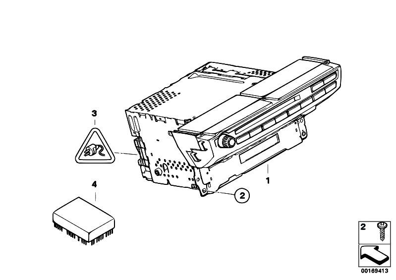 Original Parts for E70 X5 3.0d M57N2 SAV / Audio