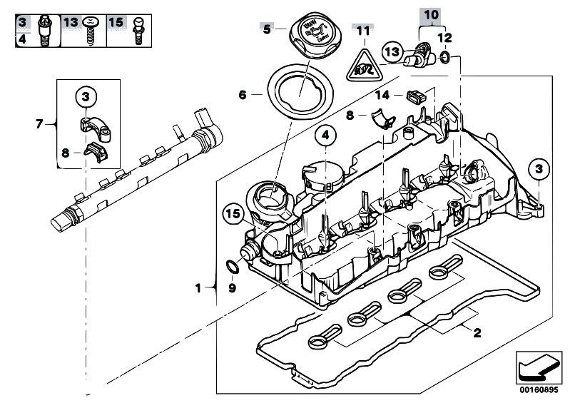 Original Parts for E83N X3 2.0d N47 SAV / Engine/ Cylinder