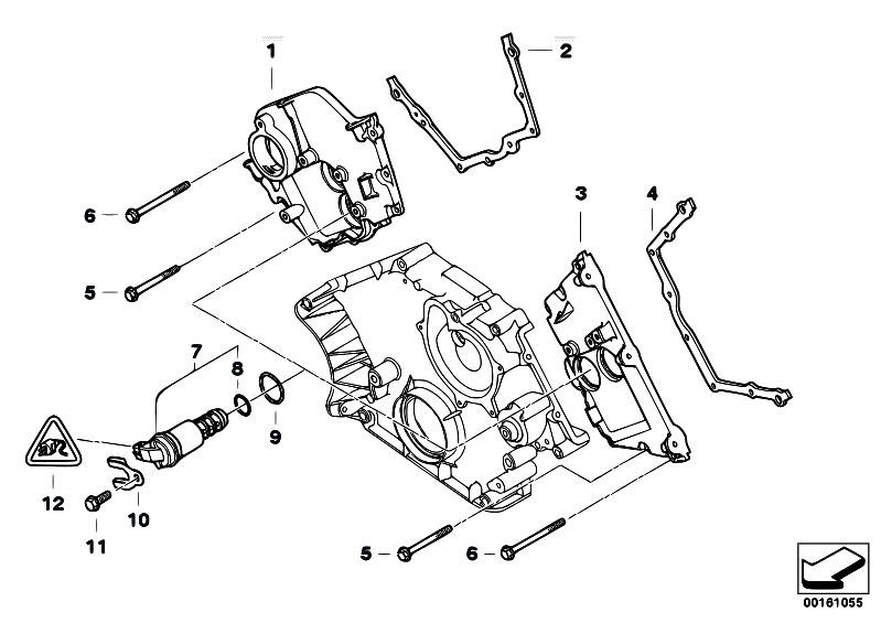 Original Parts for E70 X5 4.8i N62N SAV / Engine/ Upper