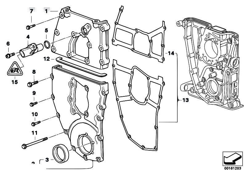 Original Parts for E46 318i M43 Touring / Engine/ Timing
