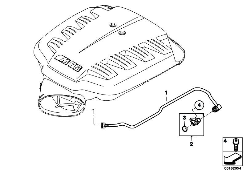 Original Parts for E92 M3 S65 Coupe / Engine/ Crankcase