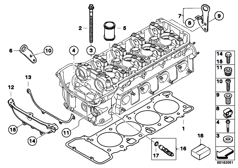Original Parts for E92 M3 S65 Coupe / Engine/ Cylinder