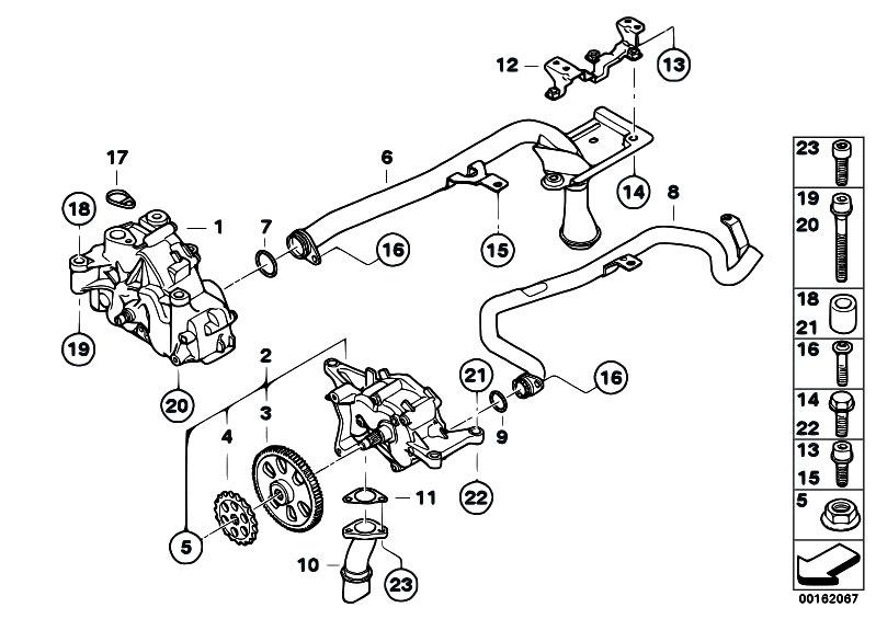 Original Parts for E90 M3 S65 Sedan / Engine/ Lubrication