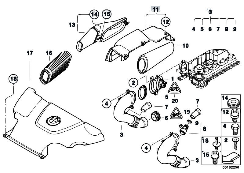 Original Parts for E46 320d M47N Touring / Fuel
