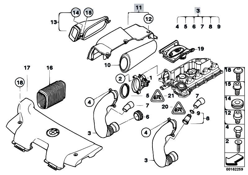 Original Parts for E87 120d M47N2 5 doors / Fuel