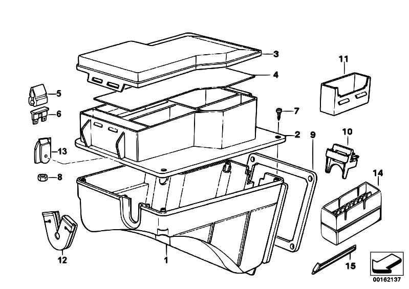 Original Parts for E36 320i M50 Cabrio / Vehicle