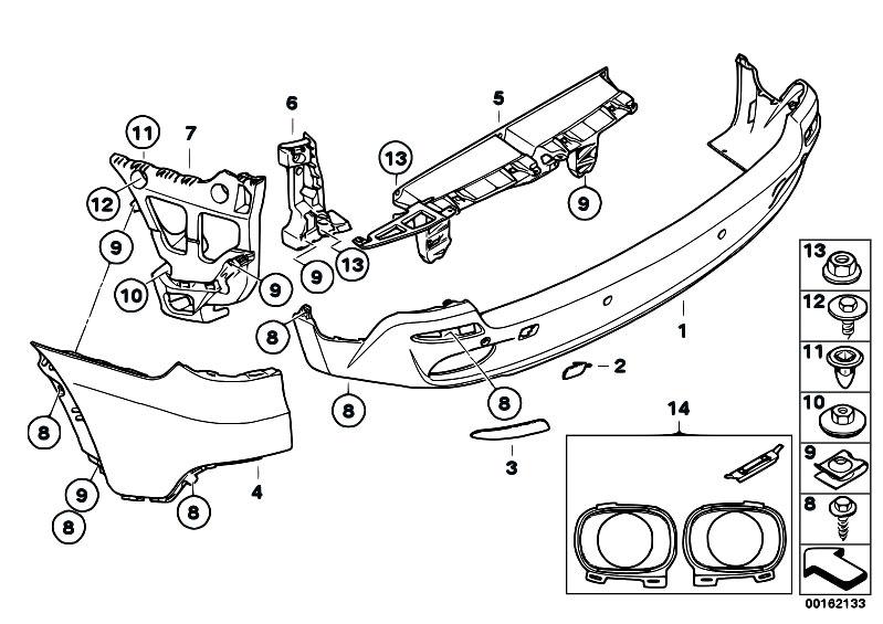 Original Parts for E70 X5 4.8i N62N SAV / Vehicle Trim