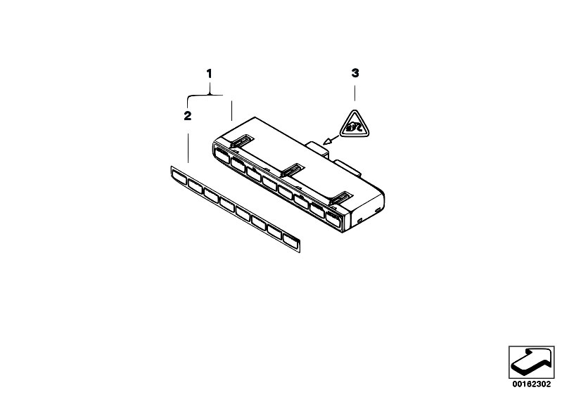 Original Parts for E60 525i N52 Sedan / Vehicle Electrical