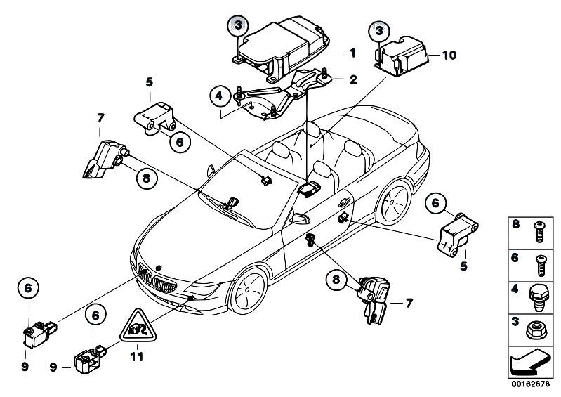 Original Parts for E64 630i N52 Cabrio / Audio Navigation