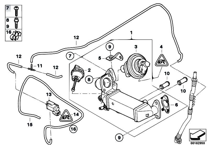 Original Parts for E92 320d N47 Coupe / Engine/ Emission
