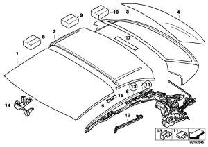 Original Parts for E93 M3 S65 Cabrio  Sliding Roof