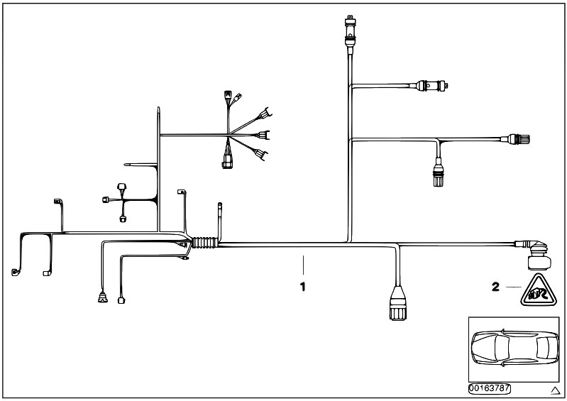 Original Parts for E46 330Ci M54 Coupe / Engine Electrical