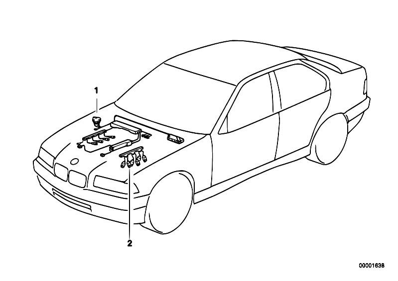 Original Parts for E39 M5 S62 Sedan / Engine Electrical