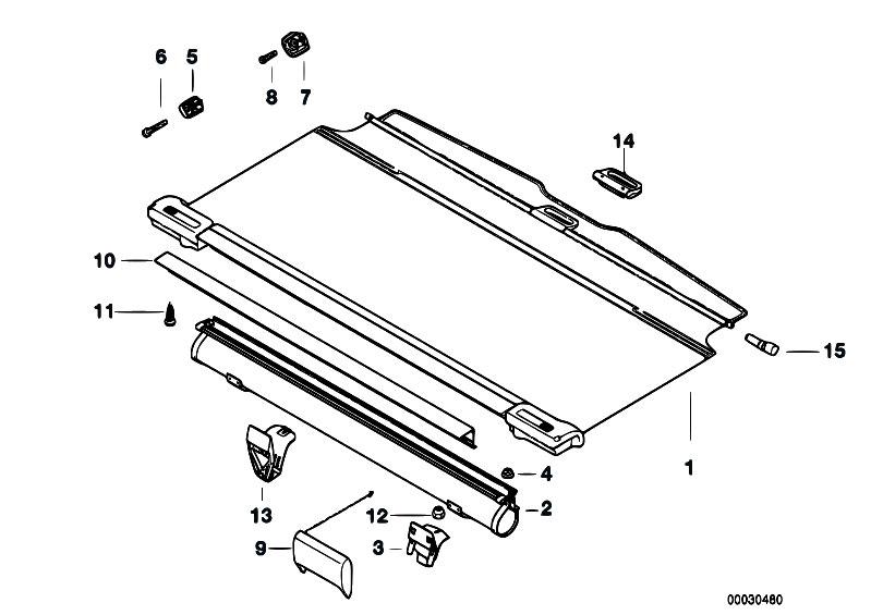 Original Parts for E36 318i M43 Touring / Vehicle Trim