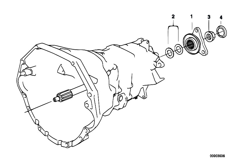 Original Parts for E34 M5 S38 Touring / Manual