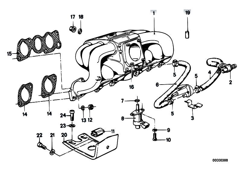 Original Parts for E21 323i M20 Sedan / Engine/ Intake