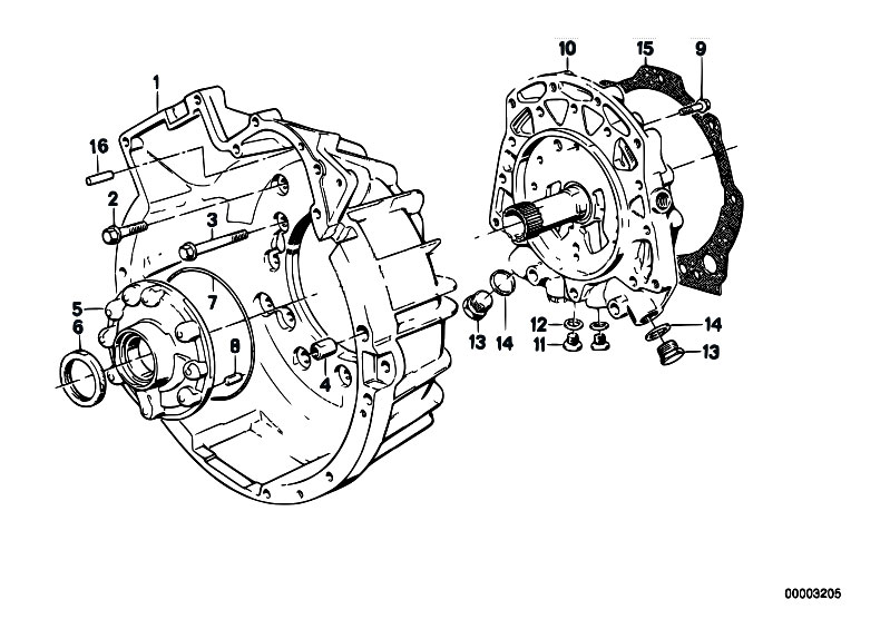 Original Parts for E30 320i M20 4 doors / Automatic