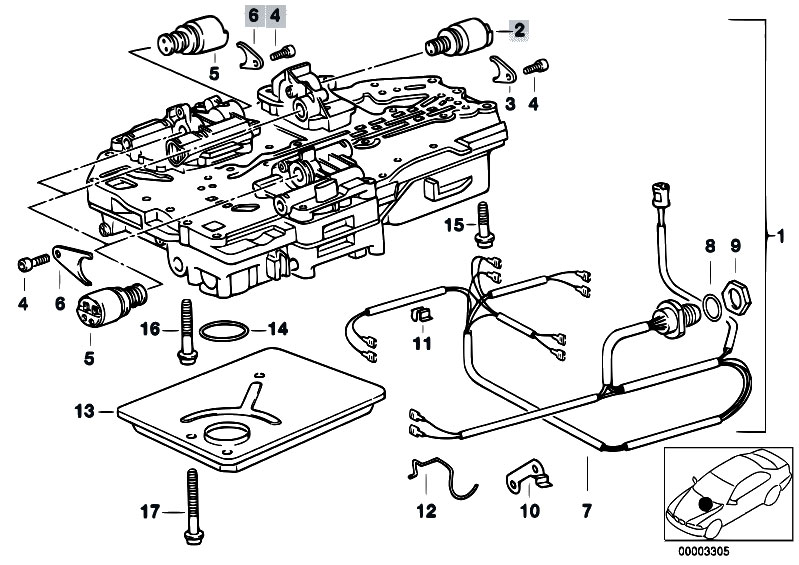 Original Parts for E34 520i M20 Sedan / Automatic