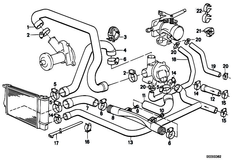 bmw engine cooling diagram