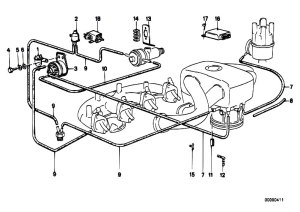 Original Parts for E30 318i M10 4 doors  Engine Vacuum