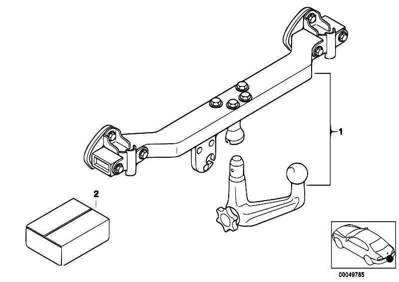 Original Parts for E46 330i M54 Sedan / Equipment Parts