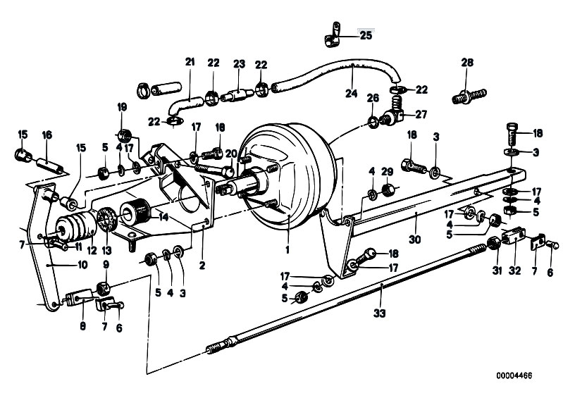 Original Parts for E21 318i M10 Sedan / Brakes/ Brake