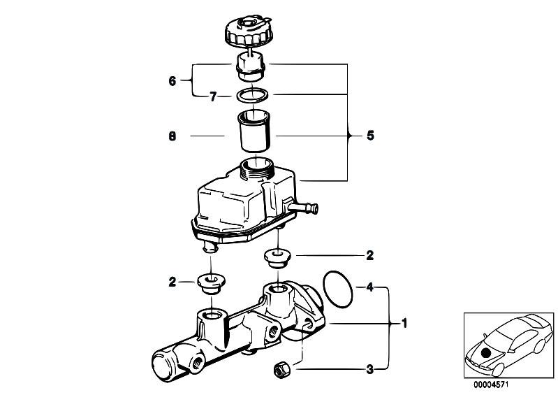Original Parts for E36 316i M40 Sedan / Brakes/ Brake