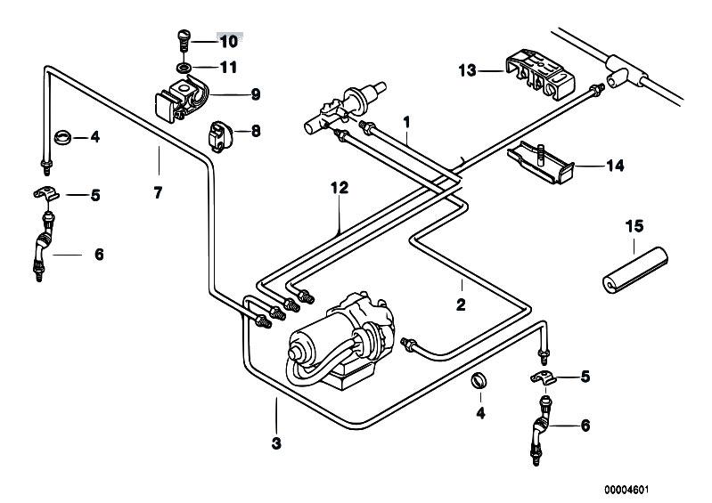 Original Parts for E36 318tds M41 Touring / Brakes/ Brake