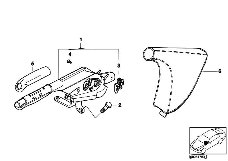 Original Parts for E46 316ti N42 Compact / Brakes