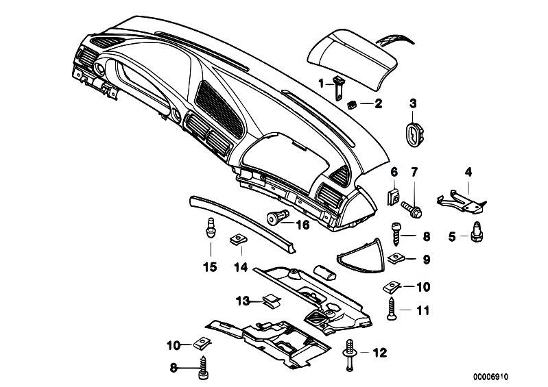 Original Parts for E38 730i M60 Sedan / Vehicle Trim/ Trim