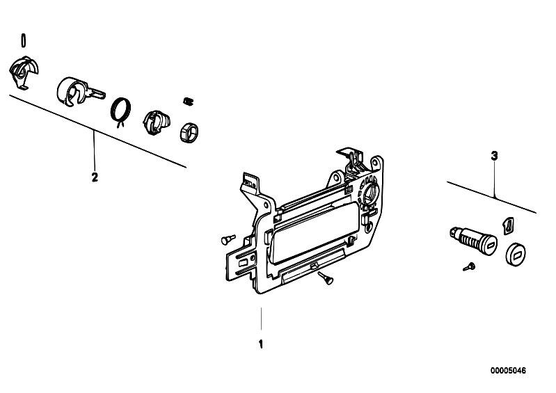 Original Parts for E31 840i M60 Coupe / Bodywork/ Door