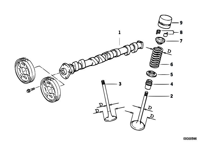 Original Parts for E36 318ti M42 Compact / Engine/ Valve