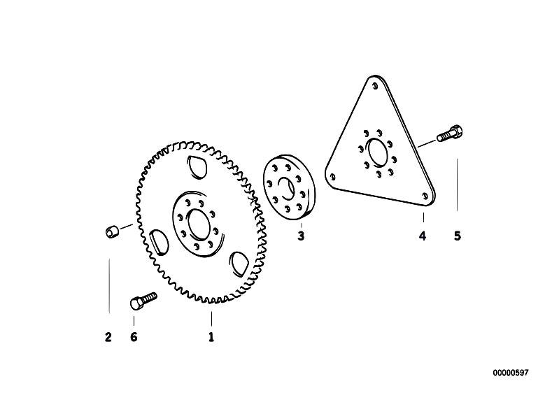 Original Parts for E36 316i 1.9 M43 Compact / Engine