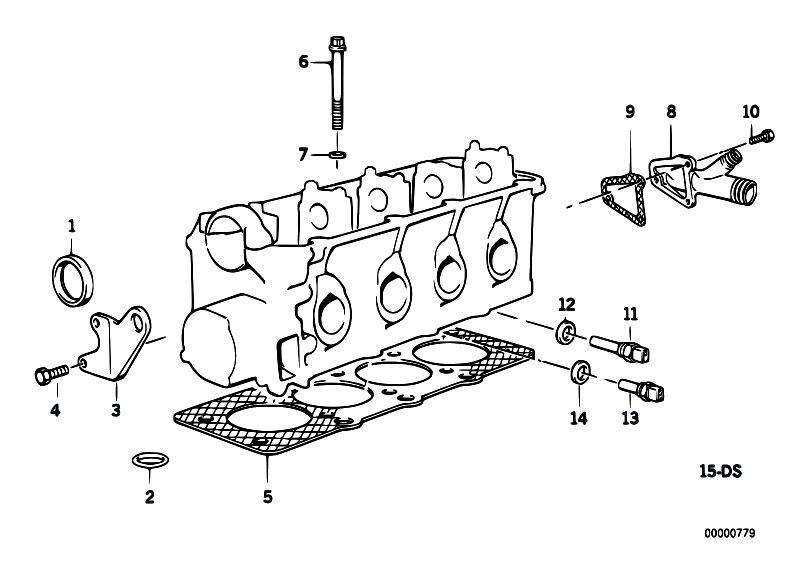 Original Parts for E34 518i M40 Sedan / Engine/ Cylinder