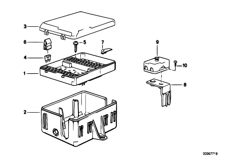 Original Parts for E30 M3 S14 Cabrio / Vehicle Electrical