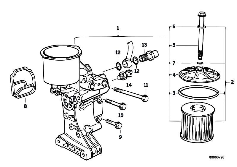 Original Parts for E36 325i M50 Sedan / Engine
