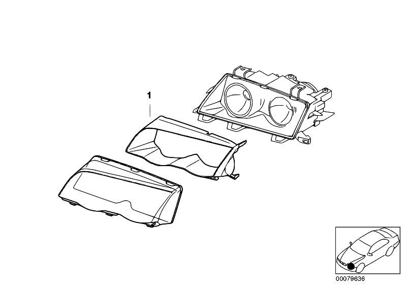 Original Parts for E46 328i M52 Touring / Lighting