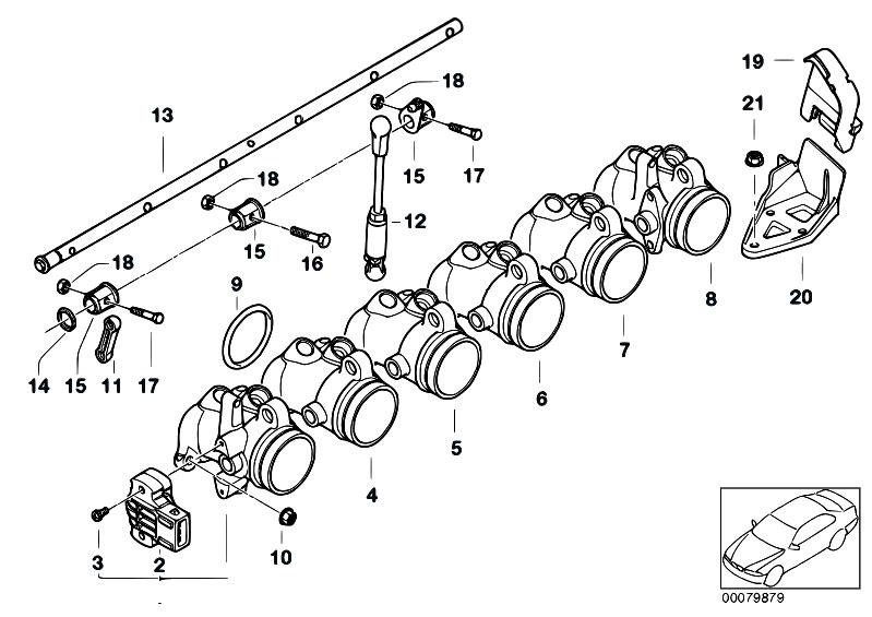 Original Parts for E86 Z4 M3.2 S54 Coupe / Fuel