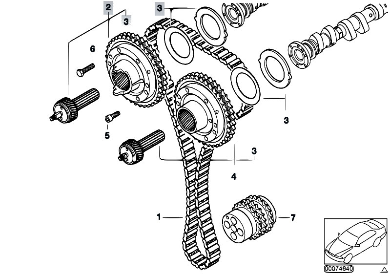 Service manual [1997 Bmw M3 Timing Chain Replacement