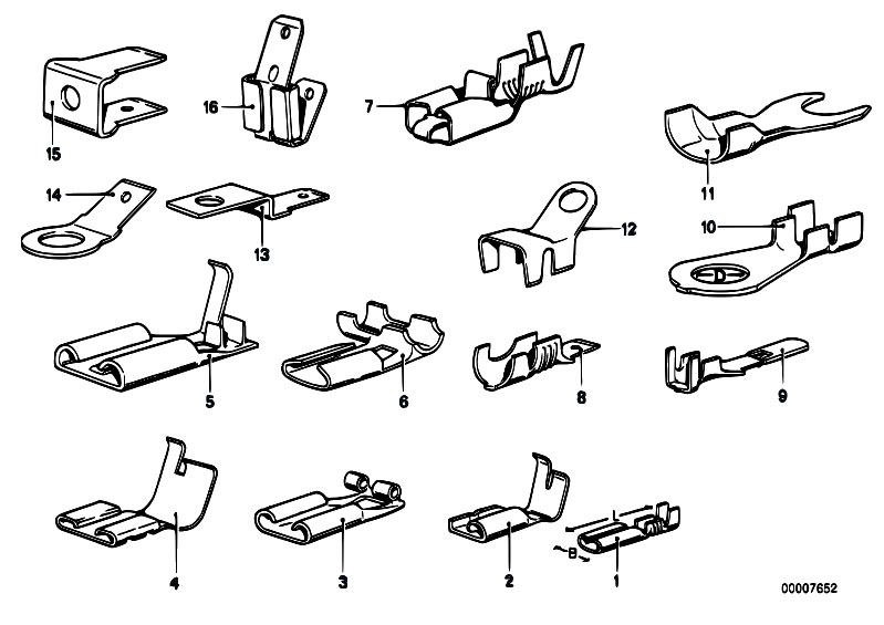 Original Parts for E21 318 M10 Sedan / Vehicle Electrical