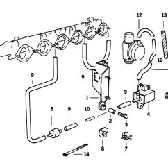 Bmw E36 Vacuum Hose Diagram 2000 Dodge Neon Alternator Wiring Original Parts For M3 S50 Sedan Engine Control Estore Central Com